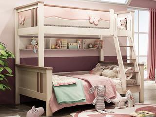 小鹿知青 1.35*2.0米儿童床(不含梯柜、拖抽)