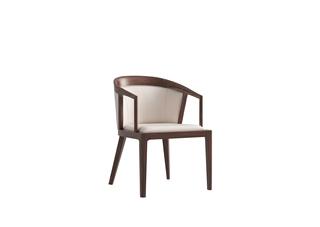 902A#瑞德家居  系列  新中式气概  金檀色  小乌金    仿皮书椅