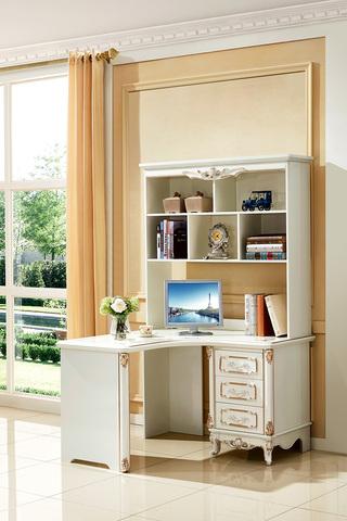 5510#瑞德家居 系列 欧式故乡系列 描金工艺 优良实木 转角书桌