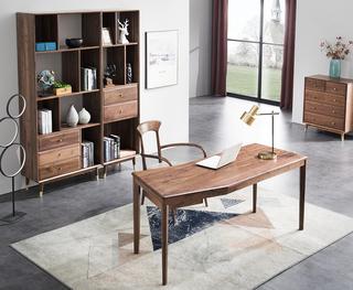 3926#瑞德家居 系列 北欧气概 全实木  书桌