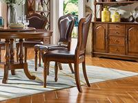 维格兰 美式气概 金丝楠木色 实木 餐椅