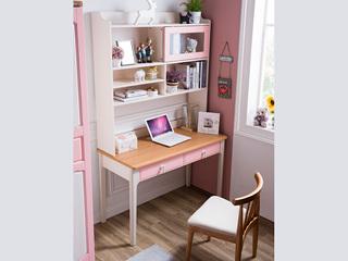 地中海书桌5505# 1.2米直角书桌