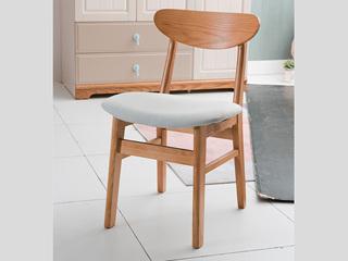 地中海 书椅B款 实木 椅子