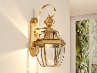 欧式WA-1铜灯 单头壁灯(包邮)(不含光源)