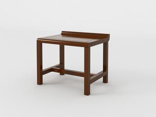 新中式 小乌金木 FA1901短茶凳
