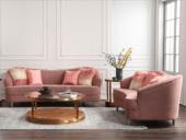 卡伦斯特 轻奢气概 高级棉夏布 高回弹海绵 组合沙发(2+3)(抱枕随机发货)