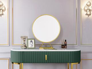 轻奢气概 优良铁艺烤漆 加厚玻璃镜 镜子