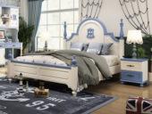 柏莎贝尔 简美气概 优良橡胶木 环保安康 坚忍耐用 孩子安心睡 1.5m儿童床