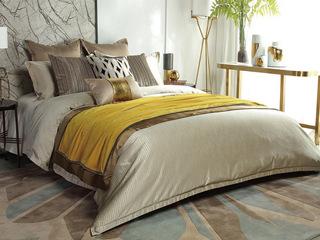 克拉克 床品四件套(含1对枕套、1条被套、1条床单)(不含芯)