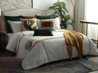 足球王子 床品四件套(含1对枕套、1条被套、1条床单)(不含芯)