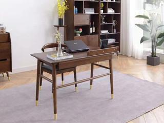 北欧气概 泰国入口橡胶木 1.2米书桌