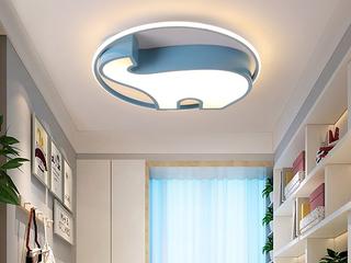 侧发光系列 吸顶灯 小象500 蓝 36W 白光