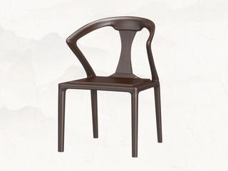 新中式 乌金木 JRZS-1005-围椅