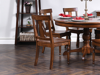 北美进口红橡 嘉宝莉环保漆 简美风格 温斯洛餐椅