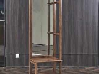 北美进口白蜡木系列穿椅镜
