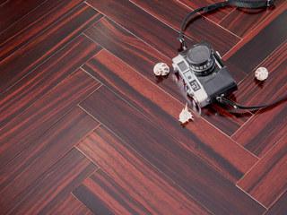 多层人字拼地板黑檀多层实木地板