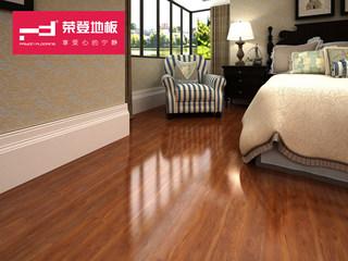 仿实木强化地板 复合木地板12mm 红粉世家系列 柚木风情 环保地板 HS02