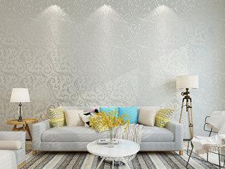 【包邮】现代简约风格 优雅柔美 防潮透气 简约卧室书房客厅电视背景墙布