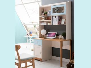 地中海书桌5503# 1.0米直角书桌