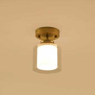 简欧 2621-1W 壁灯金色壁灯(含E27矮泡暖光5W)