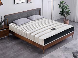 公爵A款 9区独立袋床垫 人棉纳米针织布面料 东南亚进口乳胶床垫 1.5*2.0米可定制床垫