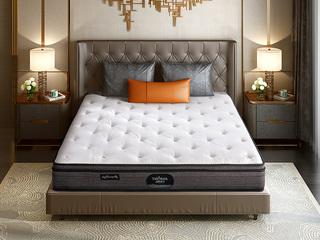 公爵B款 偏硬护脊双人床垫 纳米针织布 1.35*2.0米可定制床垫(包邮 送货到家)