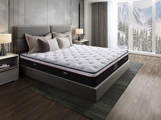 侯爵A款 天然东南亚进口乳胶床垫 高棉纳米针织面料 软硬两用床垫 1.8*2.0米可定制床垫