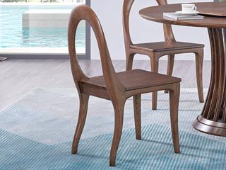 北欧风格 北美进口白蜡木 餐椅(单把价格 需双数购买 单数需增加打包费用)
