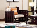 墨舍 新中式 东南亚进口红檀木 优质细麻(面料) 真丝抱枕 K909 单位沙发