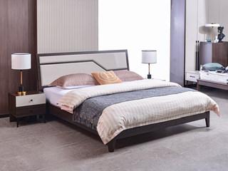 现代简约 落叶松坚固床架 1.8*2.0m床