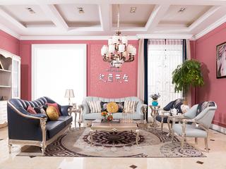 法式家具系列皮艺艺1+1+3+3沙发组合
