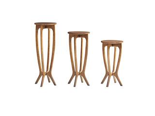北欧风格 精选白蜡木 优雅木纹 精细做工 花架