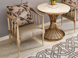 简美风格 北美进口榉木坚固框架 皮艺 休闲椅