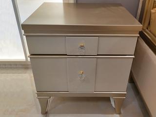 簡美風格 北美進口櫸木堅固框架 床頭柜