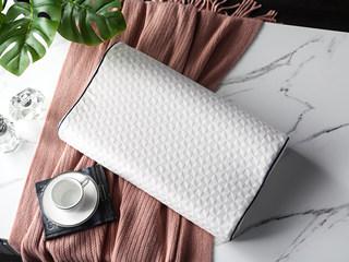 慕思集团时尚品牌 慕境 高科技感温记忆绵高低枕 针织面料 亲肤透气 双层枕套 双层保护 枕芯
