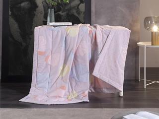 慕思集团时尚品牌 夏风之声 200*230cm 亲肤透气 纯棉印花面料  被芯