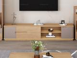 荣之鼎 北欧风格 泰国进口橡胶木 1.5米电视柜