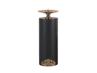 新中式风格 铜+铁艺+金属件 烛台