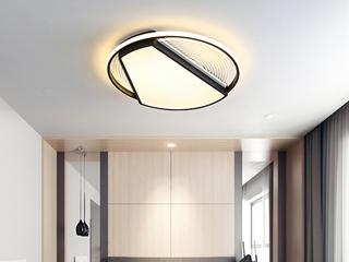 金色现代简约吸顶灯 天空之翼 客厅餐厅卧室灯(含光源)