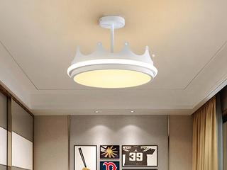 皇冠吊灯 现代简约 客厅餐厅卧室灯(含光源)