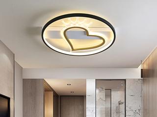 金色现代简约吸顶灯 光线皇冠 客厅餐厅卧室灯(含光源)