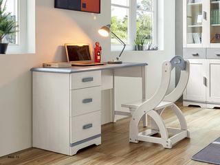 现代简约 主材樱桃木+白蜡木 大宝环保水性漆 全实木书椅