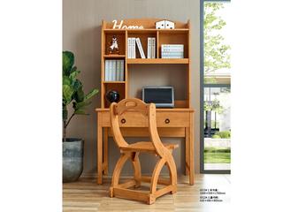 现代简约 泰国进口橡胶木 6512儿童书椅