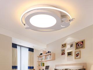 侧发光系列 吸顶灯 蜗牛500 白 36W 无极调光