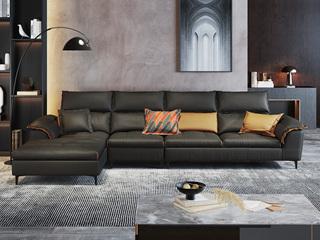 现代极简  超柔舒适 优质科技布面料 1+3+右贵妃 转角沙发