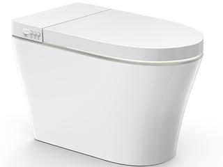 【包邮 送货到家】 智能马桶一体式智能坐便器 恒温出水 暖风烘干 无水压限制 白色坐便器