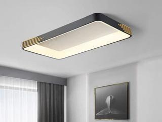 【包邮 偏远地区除外】 现代 铁艺+亚克力 450*450 三色光 吸顶灯(含光源 LED36W)