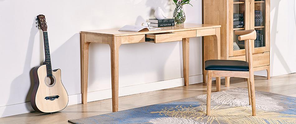 榮之鼎 北歐實木書桌